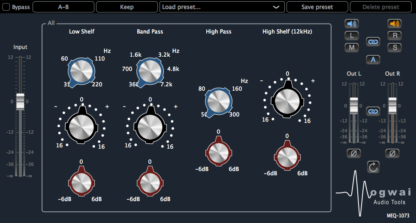 preamp equalizer audio plugin